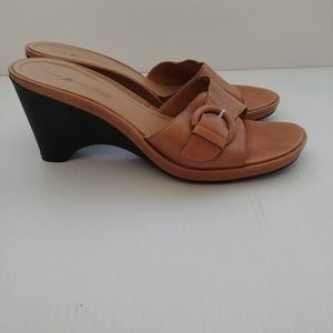 Rockport Sole Innovation Brown Wedge Sandal